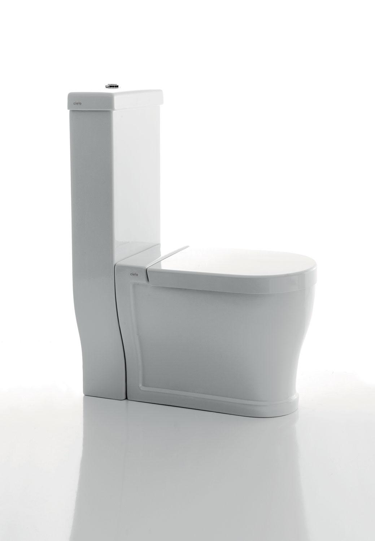 Wc Tondo With Monoblock Cistern
