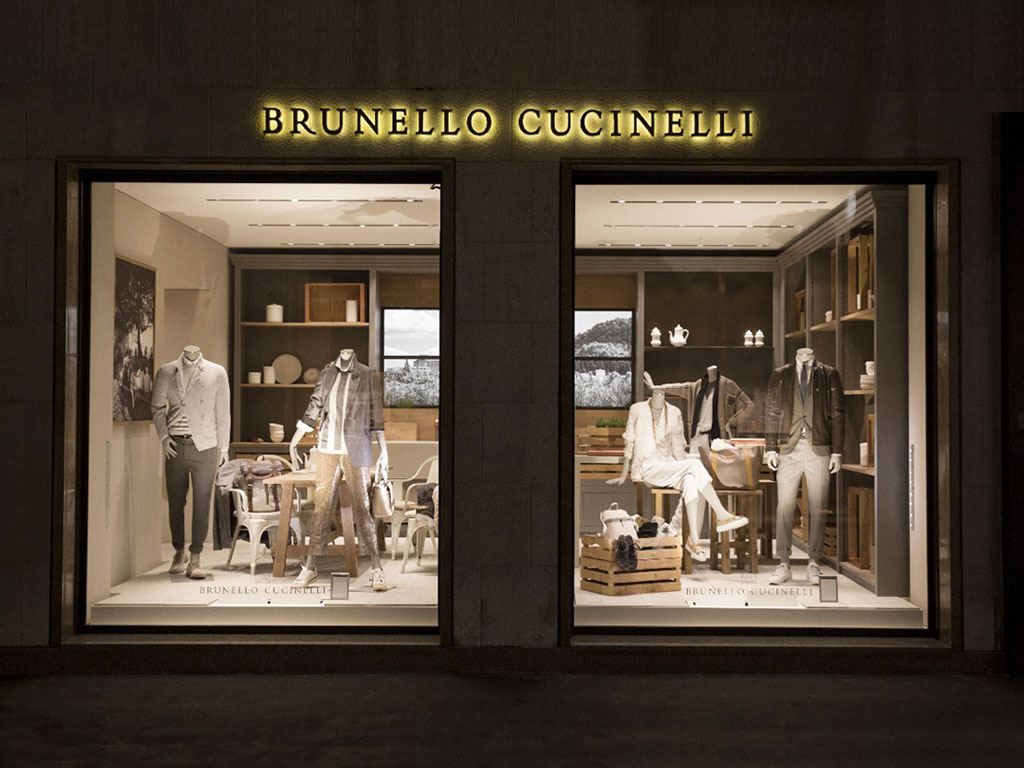Showroom Brunello Cucinelli
